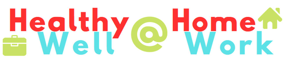 Healthy @ Home, Well @ Work Bingo Logo